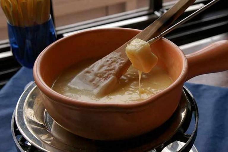 Cheese fondue rokko kobe