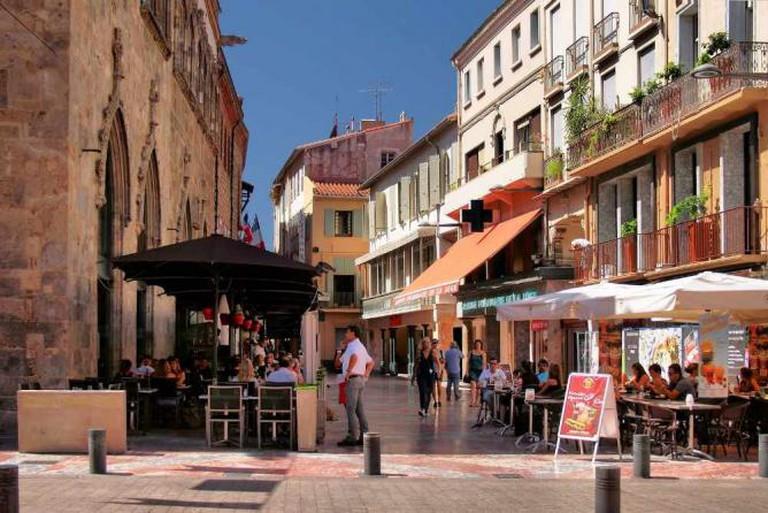 Downtown Perpignan