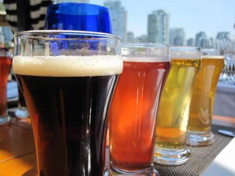 Flight of Beers, Vancouver, British Columbia, Canada