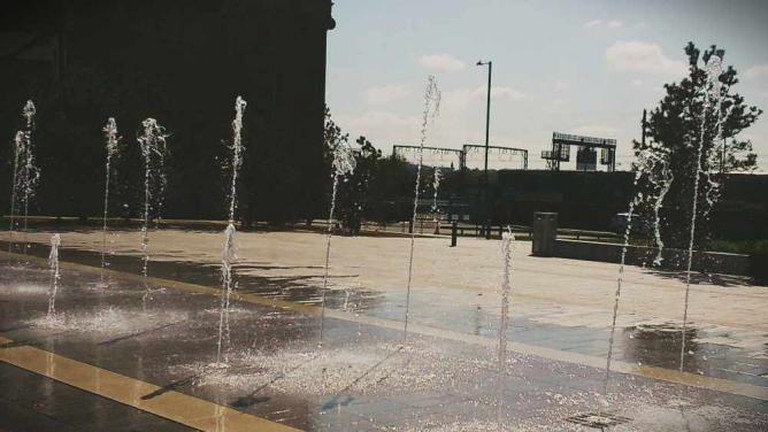 Water jets at Eastside City Park