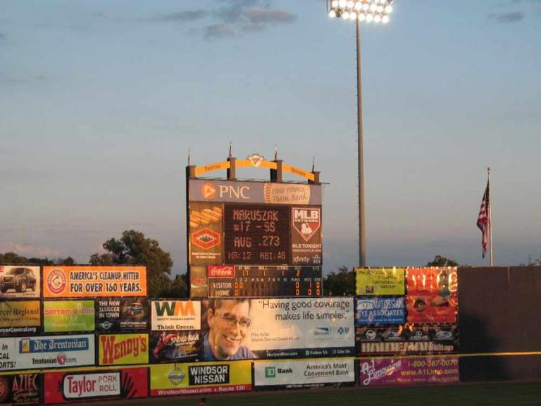 Arm and Hammer Park Scoreboard