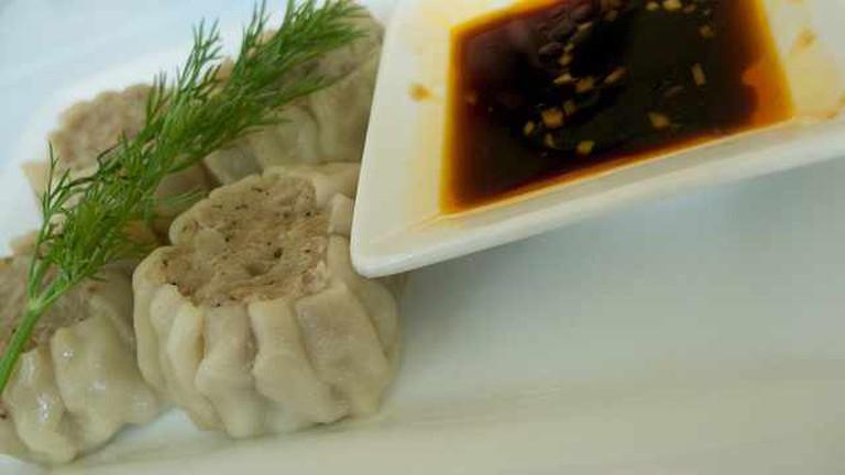 Pork Dumplings at Pusadee's Garden