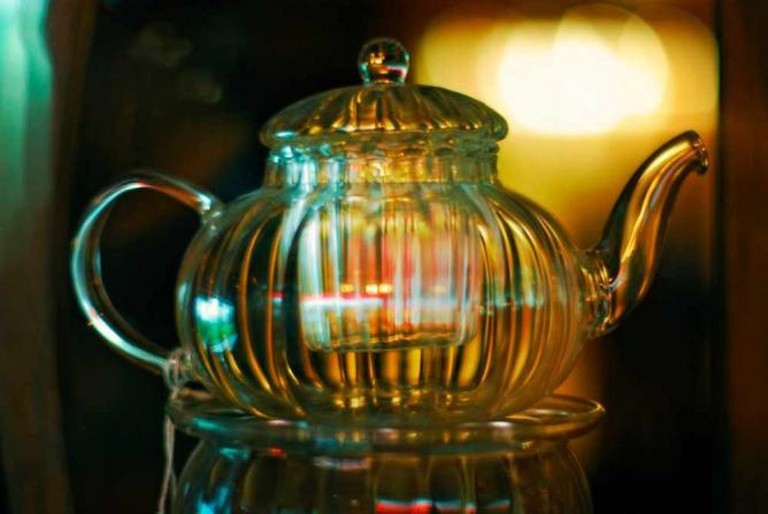 Glass Teapot