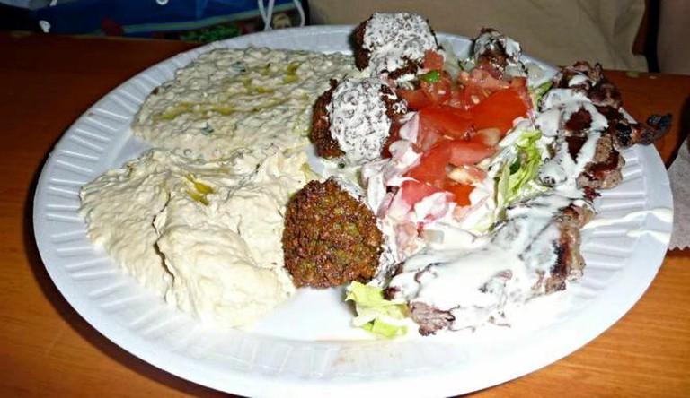 Mammon's falafel