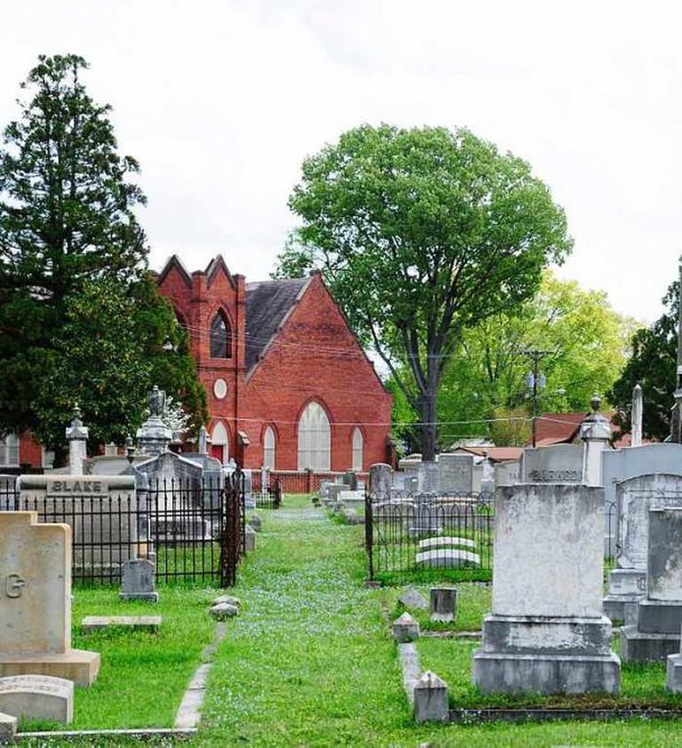 Magnolia Cemetery, Greenwood