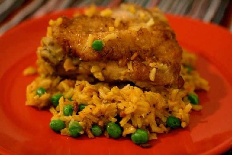 Latin-Style Chicken and Rice