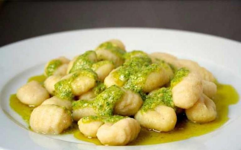 gnocchi with sage pesto