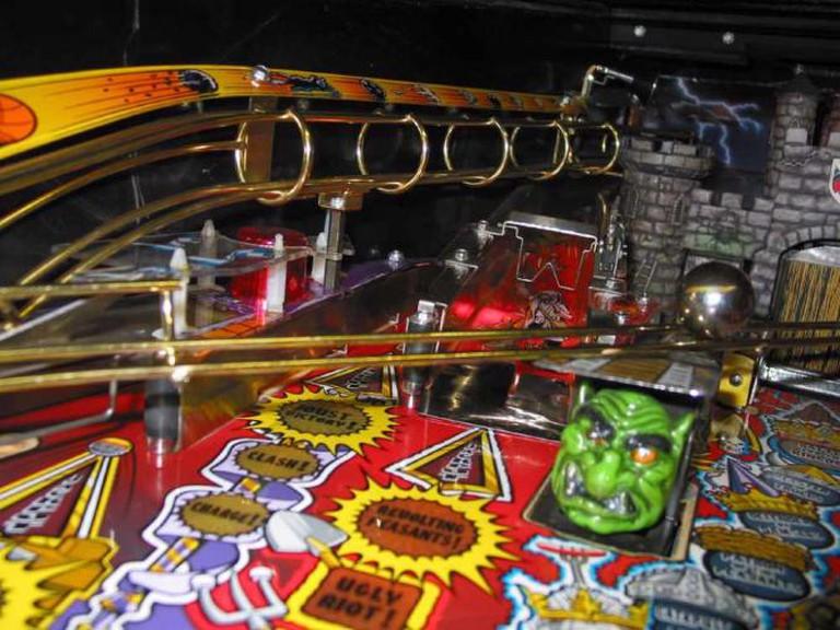 A Creative Commons Image: Pinball Machine
