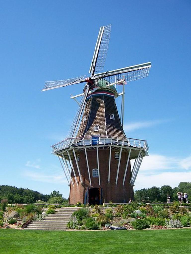 The DeZwaan Windmill in Holland, MI