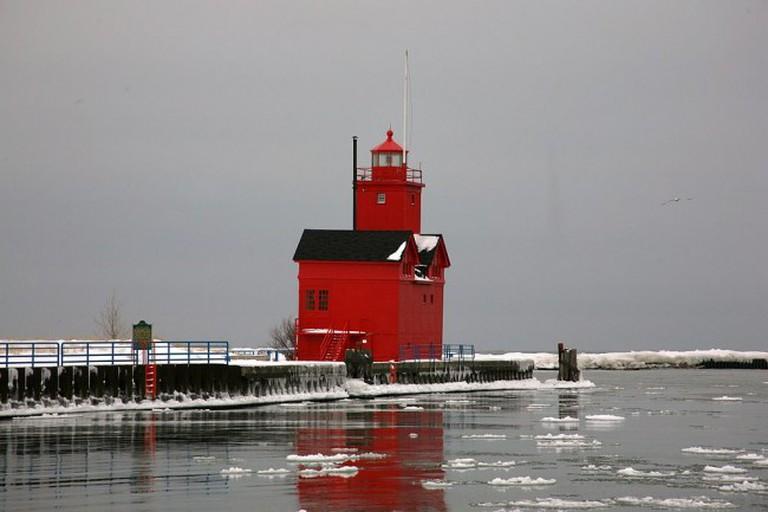 Holland Harbor Light near Holland, MI