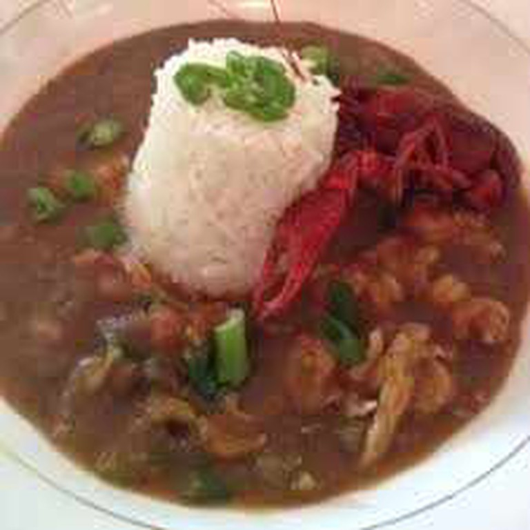 Crawfish Etouffee at Muriel's Jackson Square
