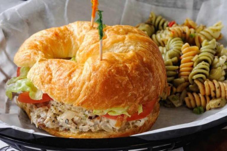 Chicken Salad Croissant at Collage Catering
