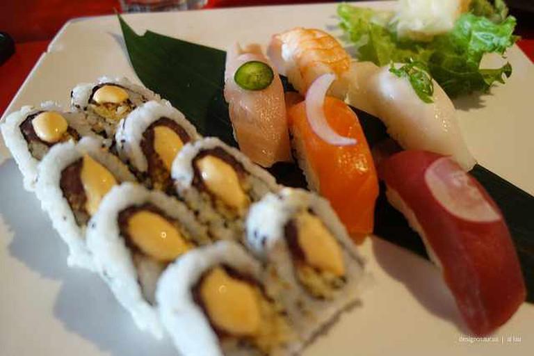Sushi at Moshi Moshi