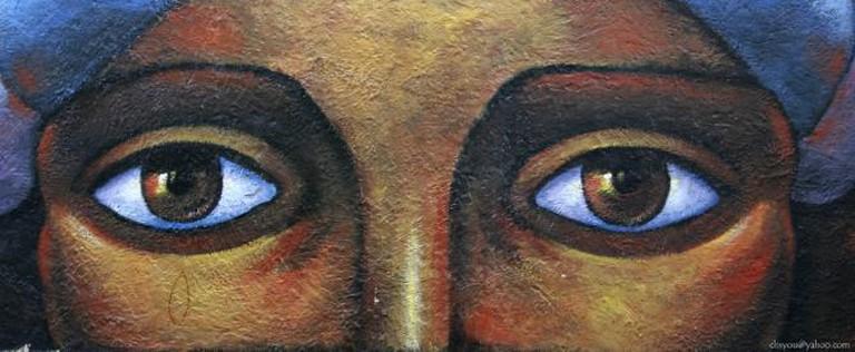The Eyes of the Wall / Los Ojos del Muro