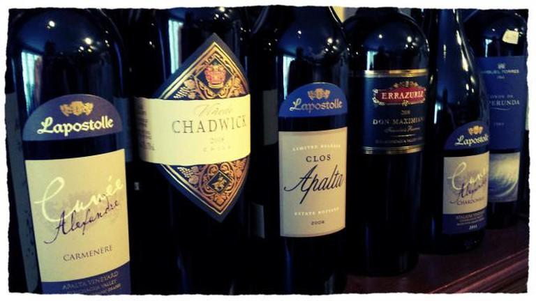 Premium Chilean Red Wines