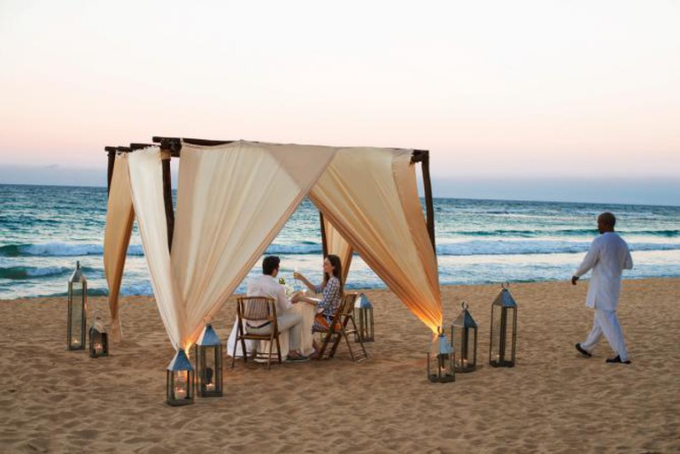 Excellence Punta Cana: Dinner on the Beach