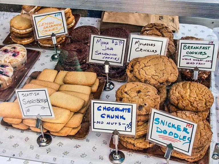 Cookies at Newport Farmer's Market