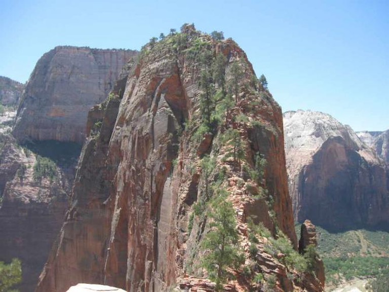 The summit of Angels Landing