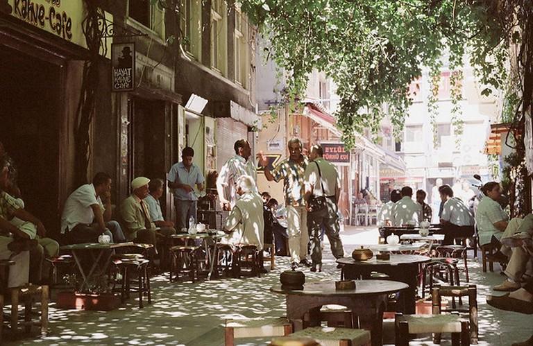 Beyoğlu's café culture