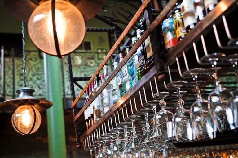Alcohol Rack