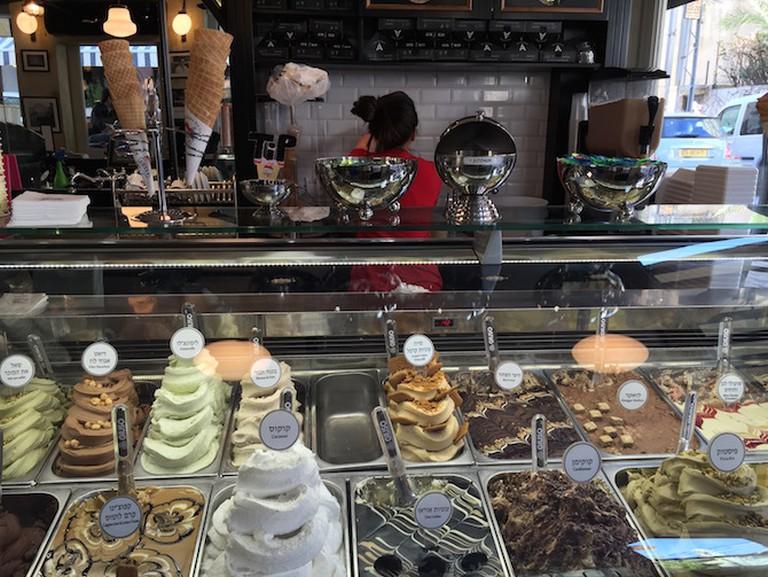 Ice cream flavors at Anita