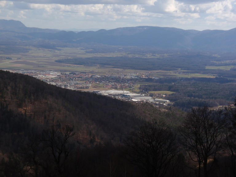 View from Pohorje