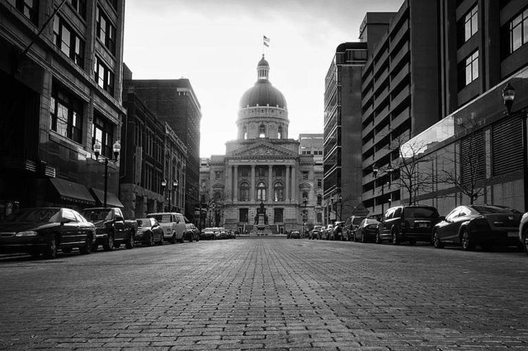 Capitol building, Indiana