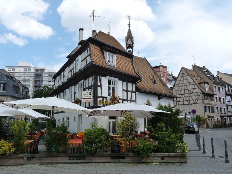 Restaurant Au Renard Prêchant dans le quartier de la Krutenau à Strasbourg
