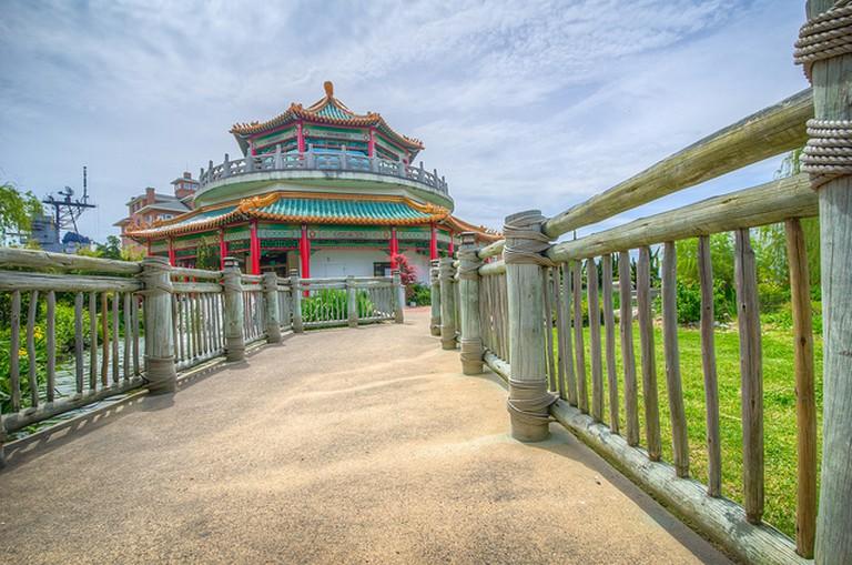 Pagoda at Norfolk Oriental Gardens
