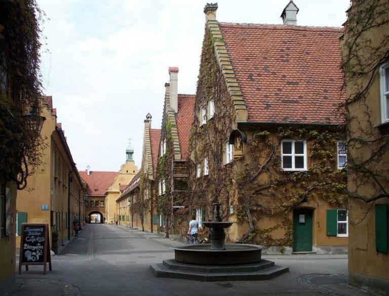 Herrengasse Fuggerei Augsburg