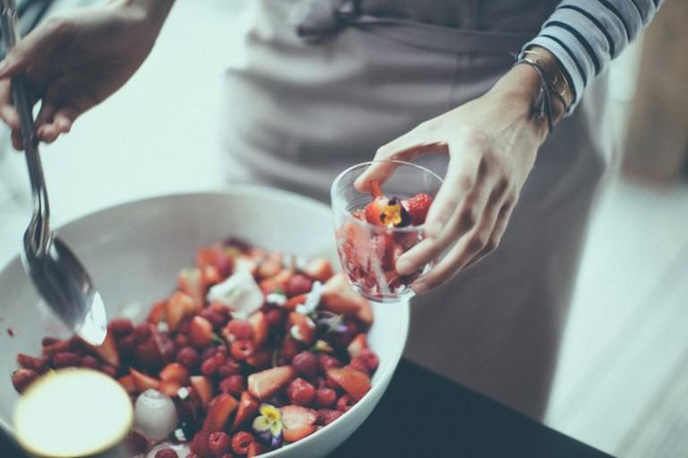 Henri & Agnes apéro of fresh fruits
