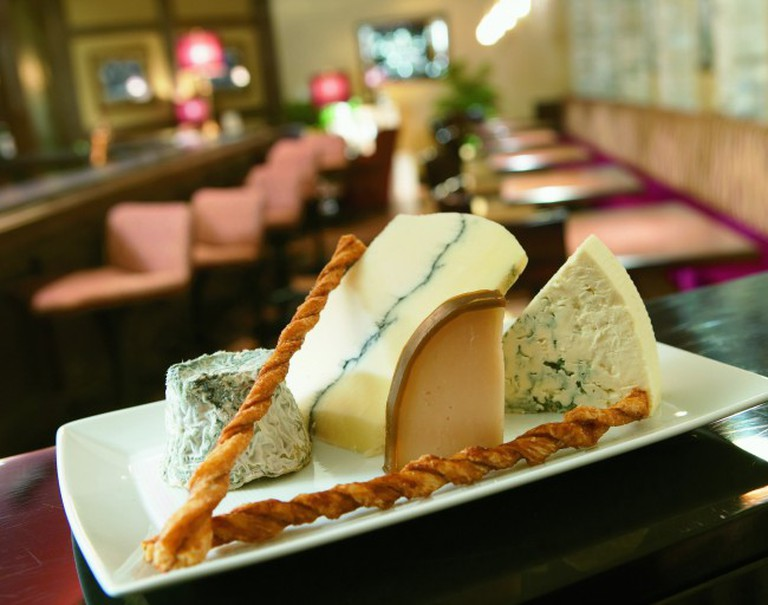 Wisconsin artisanal cheese at The Immigrant Restaurant
