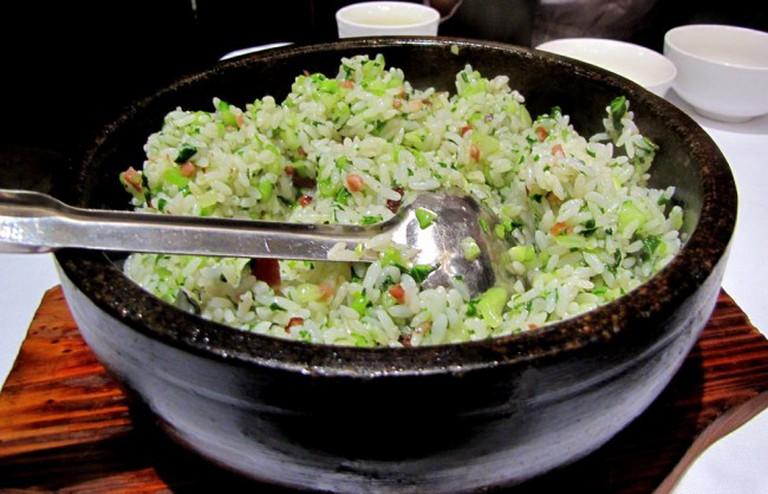 Shanghainese vegetable fried rice