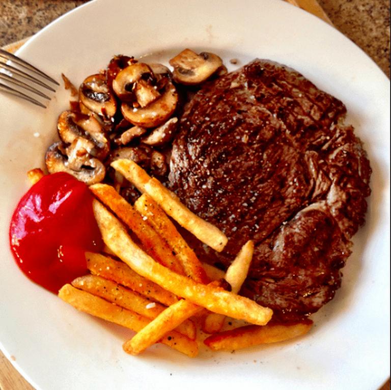 Steak& Chips