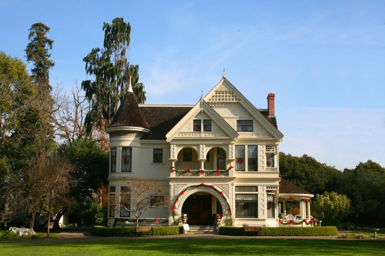 The Patterson mansion at Ardenwood Historic Farm