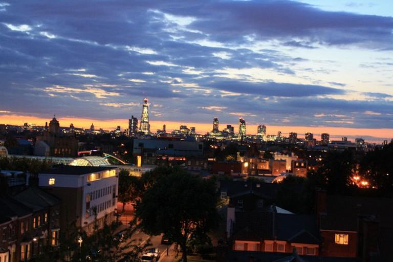 Peckham skyline