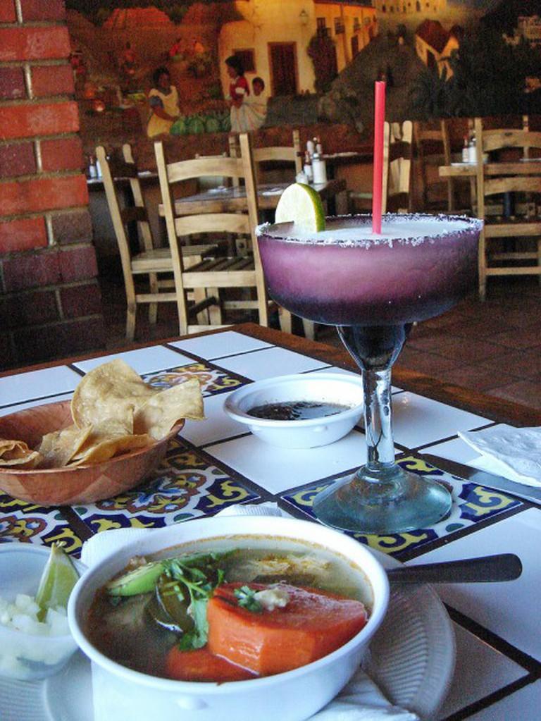 A delicious meal at La Cabañita
