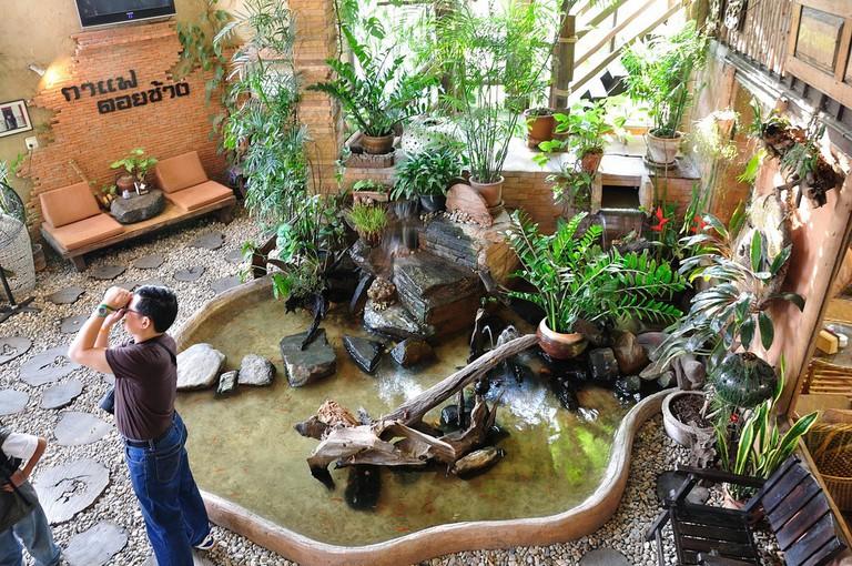 Doi Chang Fountain