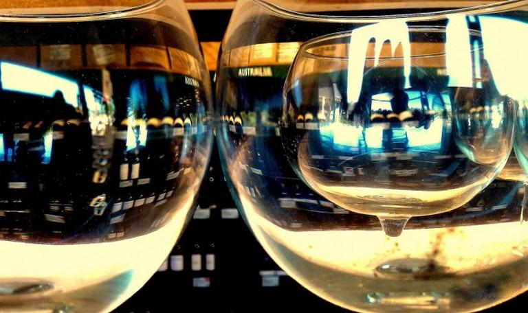 Wine Glass in a Wine Glass