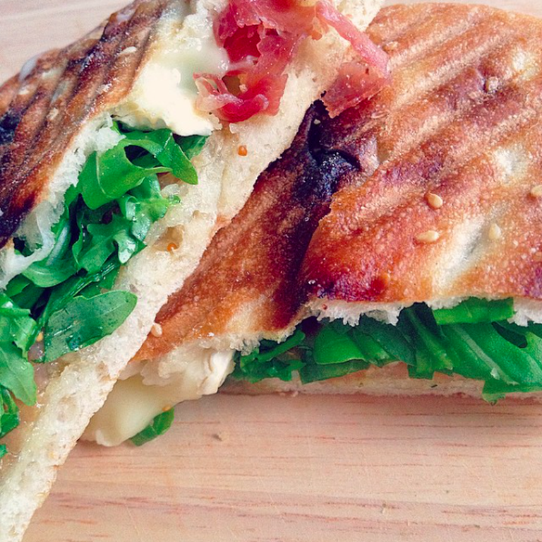 Toasted panini at Homemade