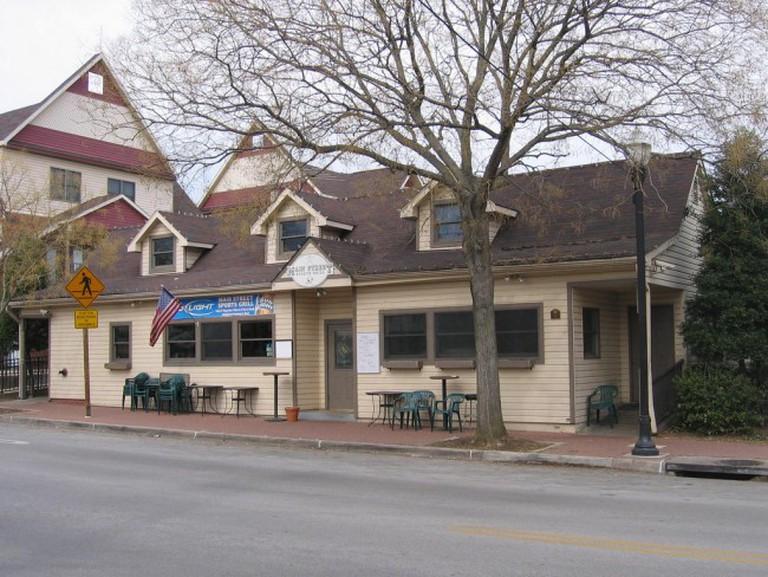 Laurel Streetcar Station
