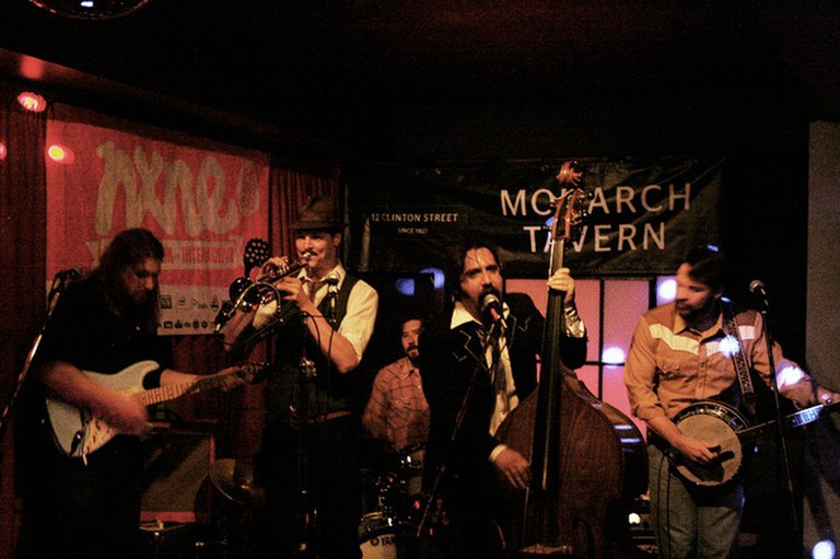 The F-Holes perform live at The Monarch Tavern