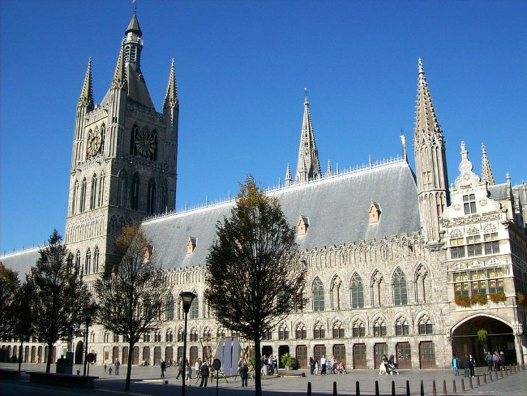 The Cloth Hall in Ypres