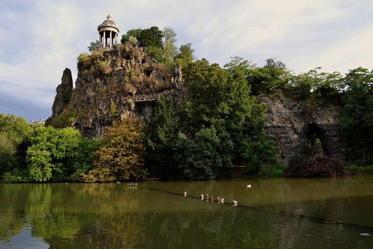 Sibylle Temple in Parc des Buttes Chaumont
