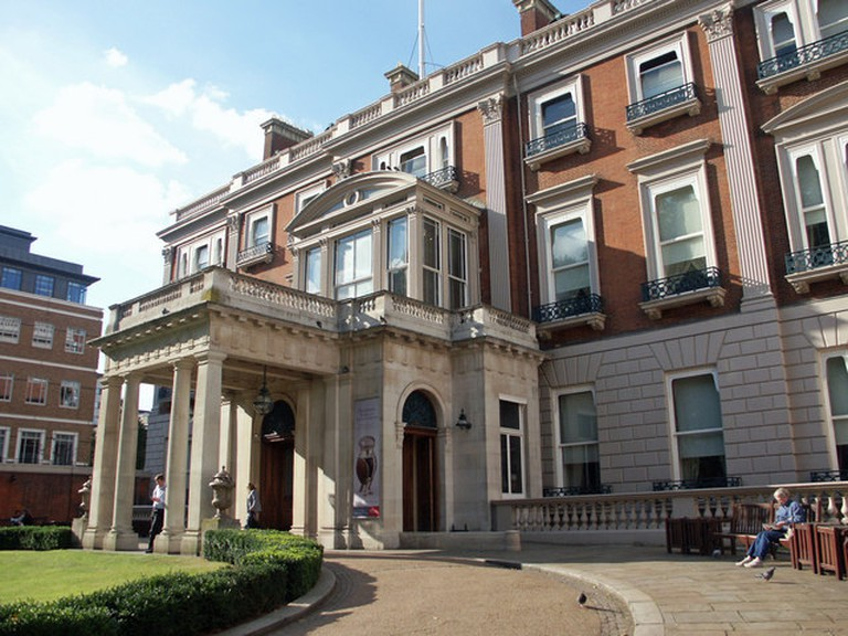 Front Entrance to the Wallace Collection