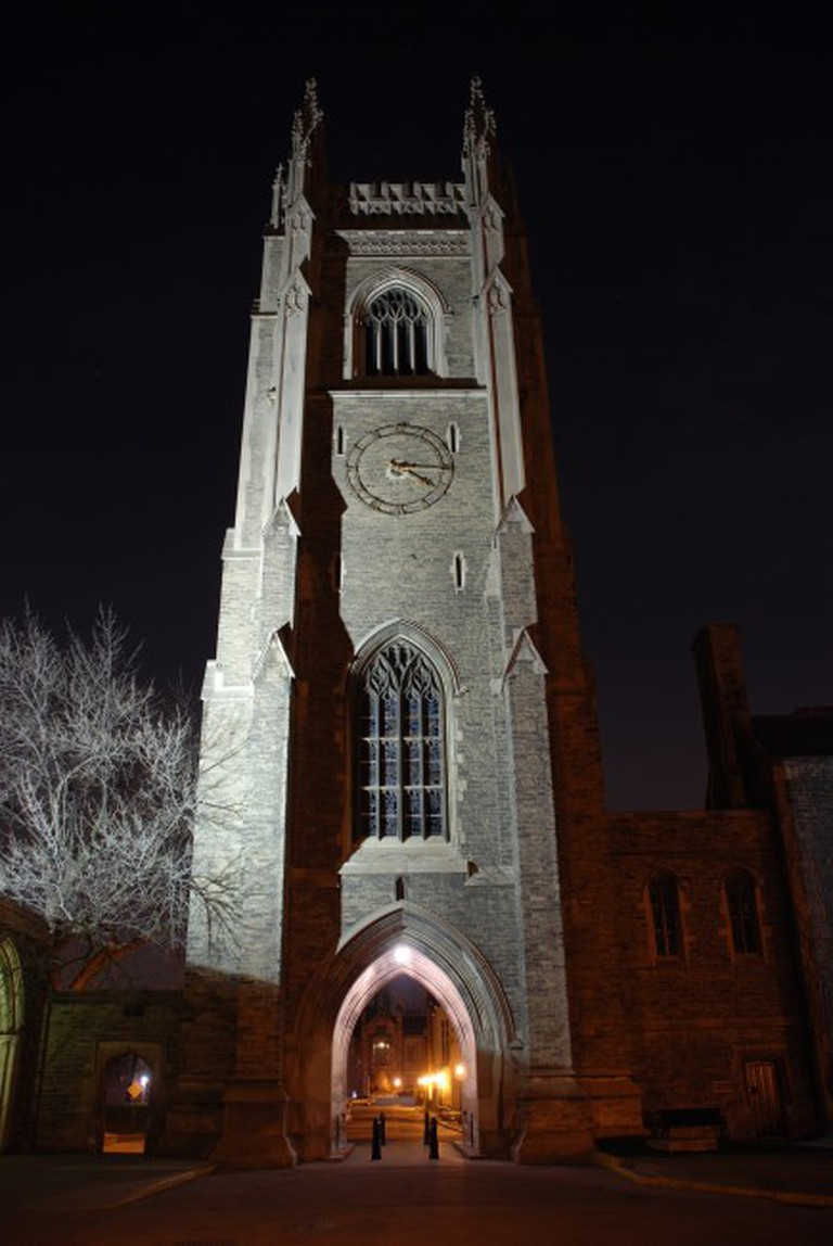 Soldier's Tower at Night