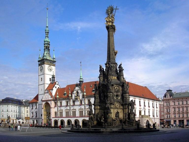 Olomouc town center