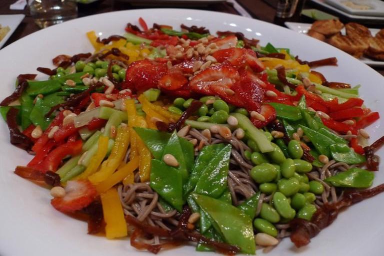 Soba Salad at Cha-Ya