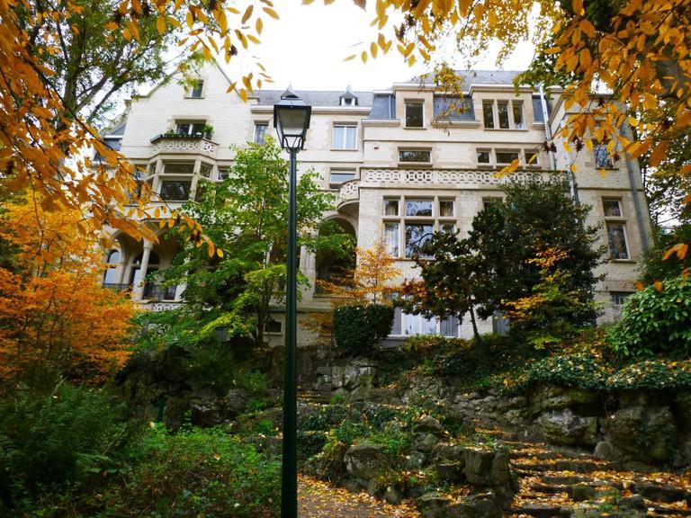 View of Maison Pelgrims from Park Paulus