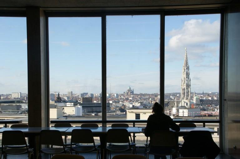 Royal Library of Belgium Café